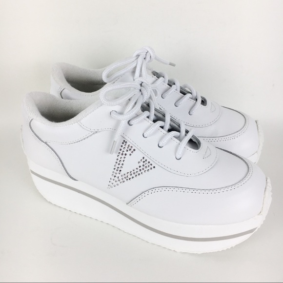 New Volatile Expulsion White Platform Sneakers 7